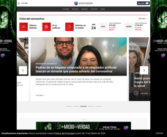 Access univision.com using Hola Unblocker web proxy