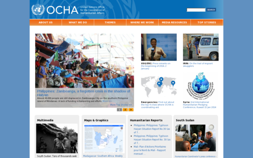 Access unocha.org using Hola Unblocker web proxy