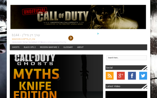 Access unofficialcallofduty.com using Hola Unblocker web proxy