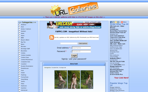 Access urlgalleries.net using Hola Unblocker web proxy