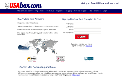 Access usabox.com using Hola Unblocker web proxy