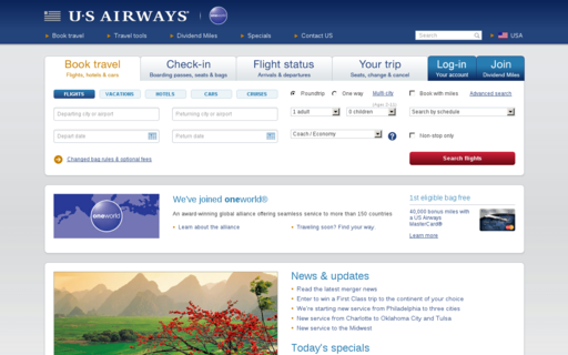 Access usairways.com using Hola Unblocker web proxy