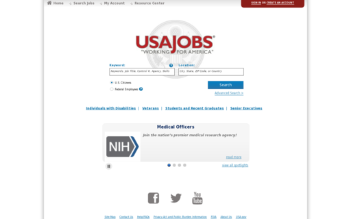Access usajobs.gov using Hola Unblocker web proxy