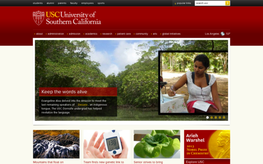 Access usc.edu using Hola Unblocker web proxy