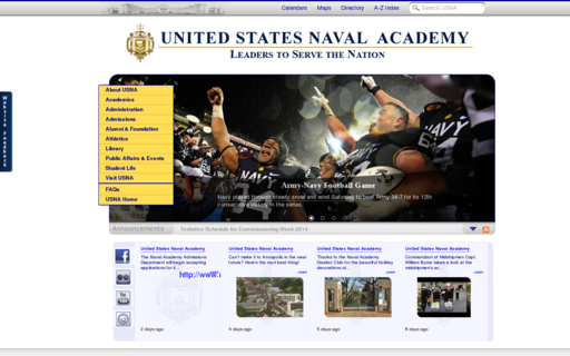 Access usna.edu using Hola Unblocker web proxy