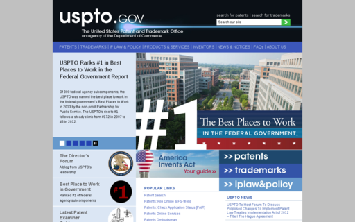 Access uspto.gov using Hola Unblocker web proxy