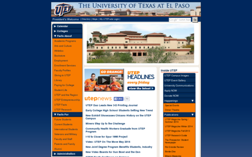 Access utep.edu using Hola Unblocker web proxy