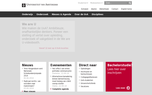 Access uva.nl using Hola Unblocker web proxy