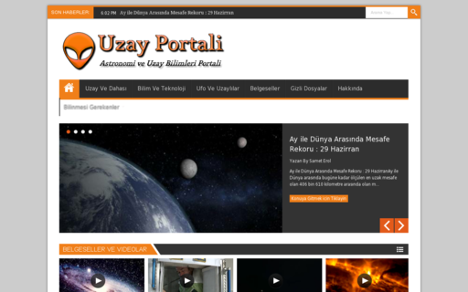 Access uzayportali.net using Hola Unblocker web proxy