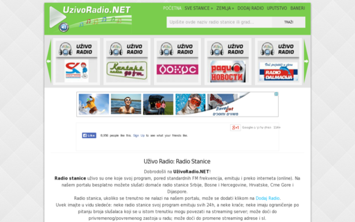 Access uzivoradio.net using Hola Unblocker web proxy