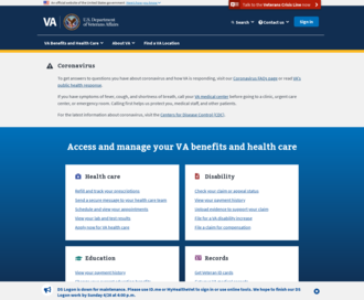 Access va.gov using Hola Unblocker web proxy