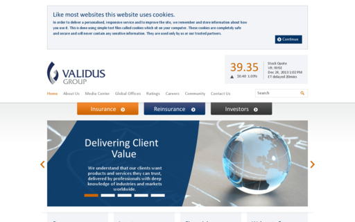 Access validusholdings.com using Hola Unblocker web proxy