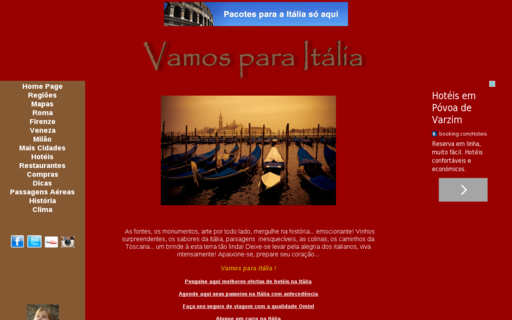 Access vamosparaitalia.com.br using Hola Unblocker web proxy