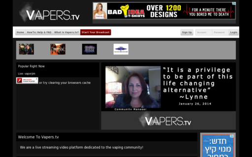 Access vapers.tv using Hola Unblocker web proxy
