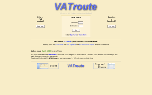 Access vatroute.net using Hola Unblocker web proxy