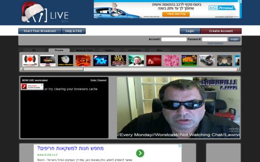 Access vaughnlive.tv using Hola Unblocker web proxy