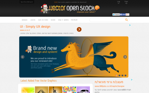 Access vectoropenstock.com using Hola Unblocker web proxy