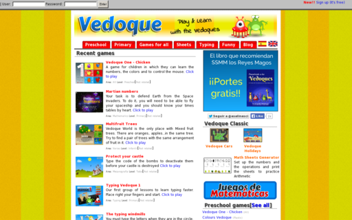 Access vedoque.com using Hola Unblocker web proxy