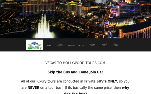 Access vegastohollywoodtours.com using Hola Unblocker web proxy
