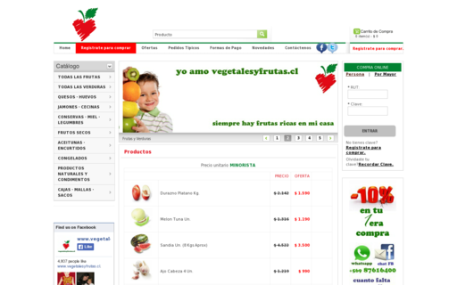 Access vegetalesyfrutas.cl using Hola Unblocker web proxy