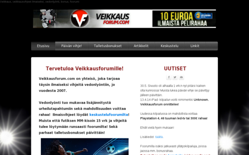 Access veikkausforum.com using Hola Unblocker web proxy