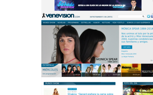 Access venevision.com using Hola Unblocker web proxy