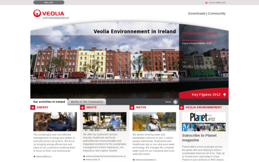 Access veolia.ie using Hola Unblocker web proxy