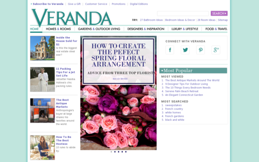 Access veranda.com using Hola Unblocker web proxy