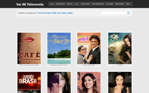 Access vermitelenovela.com using Hola Unblocker web proxy