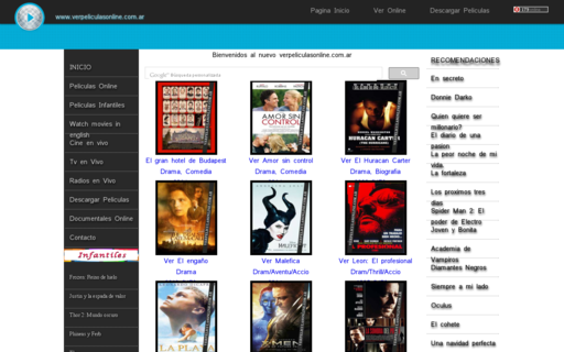 Access verpeliculasonline.com.ar using Hola Unblocker web proxy