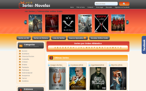Access verseriesynovelas.com using Hola Unblocker web proxy