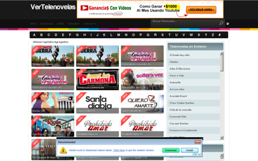 Access vertelenovelas.net using Hola Unblocker web proxy