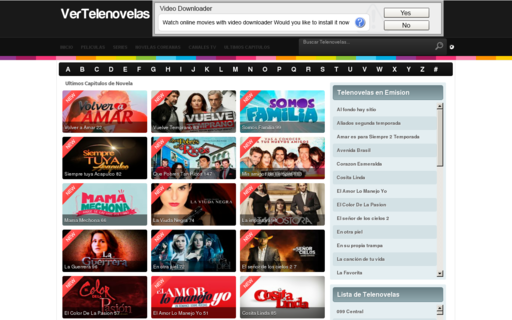 Access vertelenovelas.tv using Hola Unblocker web proxy