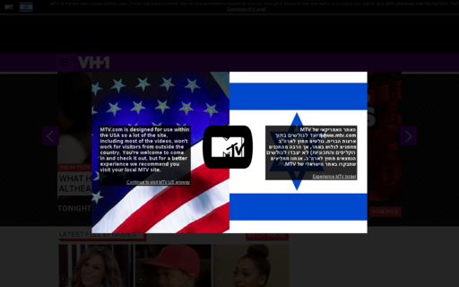 Access vh1.com using Hola Unblocker web proxy