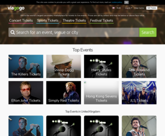 Access viagogo.co.uk using Hola Unblocker web proxy