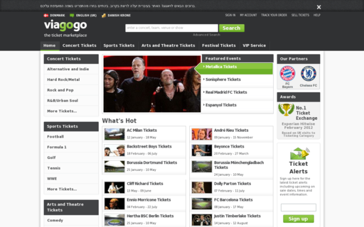 Access viagogo.dk using Hola Unblocker web proxy
