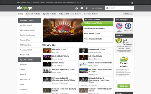 Access viagogo.pl using Hola Unblocker web proxy