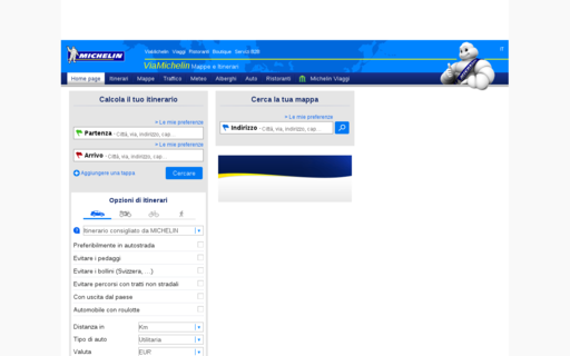 Access viamichelin.it using Hola Unblocker web proxy