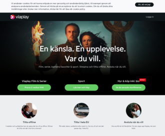 Access viaplay.se using Hola Unblocker web proxy