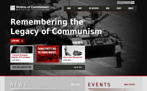 Access victimsofcommunism.org using Hola Unblocker web proxy