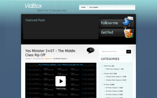 Access vidbox.info using Hola Unblocker web proxy