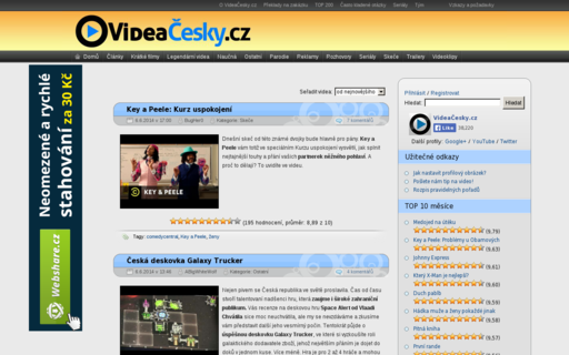Access videacesky.cz using Hola Unblocker web proxy
