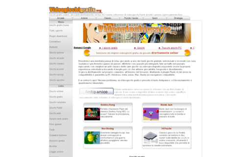 Access videogiochigratis.org using Hola Unblocker web proxy