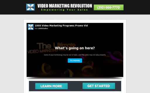 Access videomarketingrevolution.com using Hola Unblocker web proxy