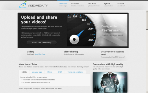 Access videomega.tv using Hola Unblocker web proxy