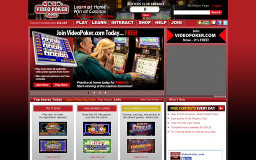 Access videopoker.com using Hola Unblocker web proxy