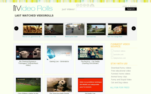 Access videorolls.com using Hola Unblocker web proxy
