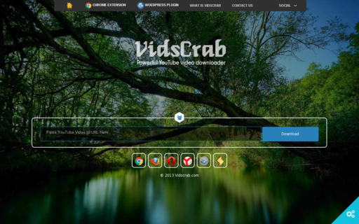 Access vidscrab.com using Hola Unblocker web proxy