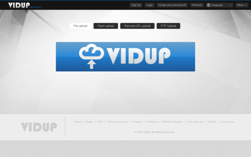 Access vidup.me using Hola Unblocker web proxy