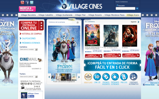 Access villagecines.com using Hola Unblocker web proxy